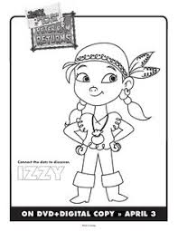 peter pan jake neverland pirates colouring pages pirate