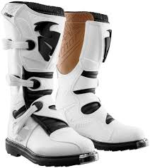 white motorcycle boots 129 95 thor mens blitz ce certified boots with mx soles 228831