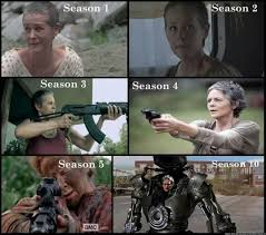 Carol Twd Meme - carol walking dead season 10 carol peletier know your meme