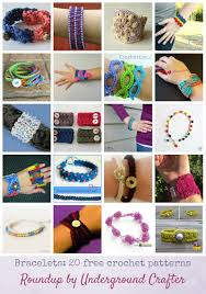 patterns bracelet images Roundup 20 free crochet bracelet patterns underground crafter jpg