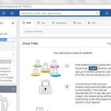edmodo teacher fig 14 options on edmodo teacher account homepage scientific diagram