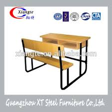 metal frame bench college steel school desk and bench sturdy metal frame combo
