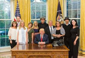 Donald Trump House Ted Nugent Shares Details Of White House Dinner With Trump Daily