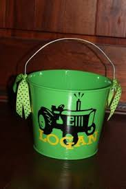 easter pail personalized boy easter or buckets personalized pails