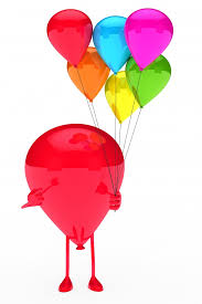 Shiny balloon with a bunch of balloons Photo  Free Download