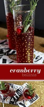 cranberry bellinis my cooking spot