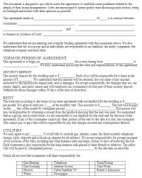 free roommate agreement template 13 free sample occupancy agreement templates printable samples