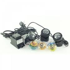 Submersible Pond Lights Set Of 3 Underwater Submersible Garden Pond Led Lights
