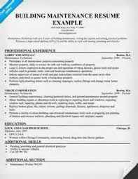 apartment maintenance resume apartment maintenance resume