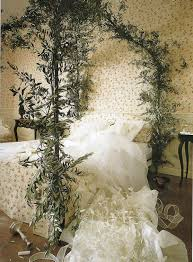 Impressive Nuance Stunning Green Plant Of Fairytale Bed Decor Inspiration