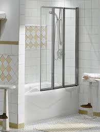 3 Panel Shower Doors Shower Enclosures Sliding Tub Doors 3 Folding Panel Keystone