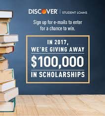 discover scholarship award discover student loans