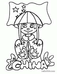 coloring china coloring pages