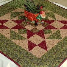 quilted square table toppers christmas table topper quilted table topper holly berries on green