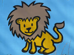 free images animal paint lion cheerful art figure drawing