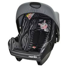notice siege auto nania nania beone sp zebra car seat 0 plus kiddicare com