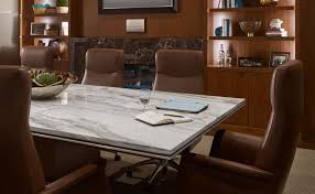marble conference room table calacatta retro marble conference table aria stone gallery