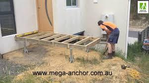 mega anchor modular prefabricated deck sub floor installation time