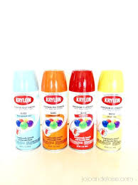 bring new life to your old plastic chairs with krylon spray paint