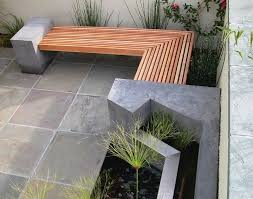 Concrete Patio Tables And Benches Outdoor Concrete Benches Treenovation