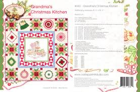 crabapple hill erica s craft sewing center image pattern cover grandma s christmas kitchen