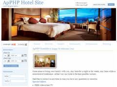 php hotel reservation system templates apphp