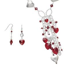 valentines day necklace 125 best s day jewelry designs images on