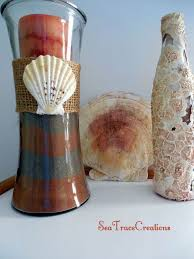 diy beach sand vases hometalk