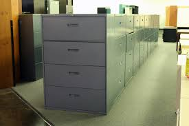 Lateral Office File Cabinets Used Steelcase File Cabinet 4 Drawer Office Files