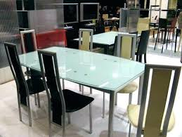 cuisine alu et bois table cuisine en verre table cuisine verre trempac table de cuisine