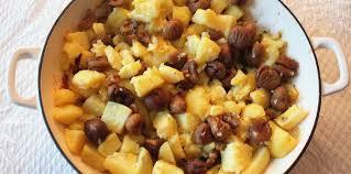 cuisiner les marrons pommes de terre aux marrons sirop d érable et mélange du trappeur