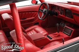 1970 Chevelle Interior Kit 69 Chevelle Becausess Red Guts And Black Interior Fesler Custom
