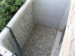 exterior design chic egress window wells with natural stone