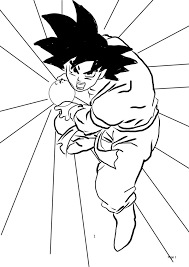 drawing dragon ball kai characters coloring pages kids