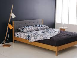 furniture great mid century bed frame designs custom decor