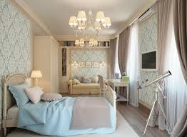 Traditional Bedroom Ideas - blue cream traditional bedroom interior design ideas