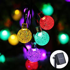 Solar String Lights Outdoor Patio Icicle Solar String Lights Outdoor 20ft 30 Led Solar