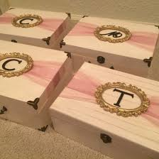 bridesmaids invitation boxes will you be my bridesmaid boxes ivory gold pink mauve diy