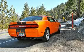 Dodge Challenger Orange - 2012 dodge challenger srt8 392 ignition motor trend