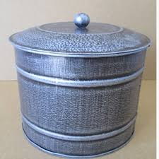 tin kitchen canisters galvanized tin canisters wayfair