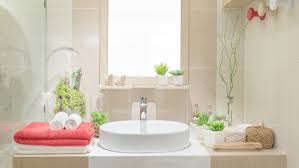 Best Plants For Bathrooms Bathroom Wallpaper Hd Washbasin With Towel And Decoration In