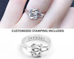 knot promise ring knot promise ring etsy