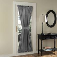 Door Panel Curtains Sun Zero Bartlett Room Darkening Door Panel Walmart