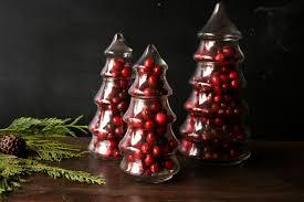 glass tree jar lights decoration