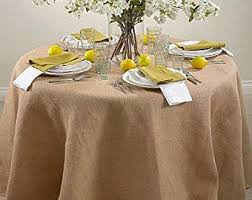 What Size Tablecloth For 60 Inch Round Table Table Overlay Etsy