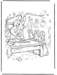 tale peter rabbit coloring book dover publications