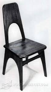 Morris Chair Plans Howtospecialist How by Contemporary Dining Chair Plans Furniture Plans And Projects