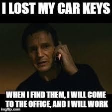 Lost Keys Meme - liam neeson taken meme imgflip