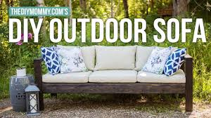 how to make a diy outdoor sofa vlogust day 21 the diy mommy
