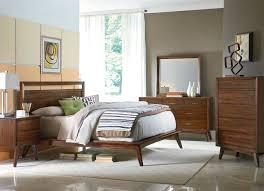Mid Century Modern Bedroom Set Mid Century Modern Bedroom Ideas Low Profile Platform Bed Brown